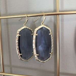Kendra Scott Ella Drop Earrings Iolite/Gold
